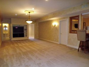 finshed basement clermont county